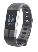 Fitness-Armband FBT-105 mit Blutdruck-Anzeige, Herzfrequenz und Bluetooth, IP67
