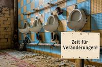 Abfluss vom Urinal bzw. Pissoir verstopft?
