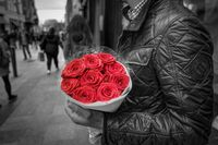 Singles und der Valentinstag