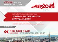 """Internationales Eisenbahnforum """"1520 Strategic Partnership"""" findet vom 20.-22. Februar in Wien statt"""