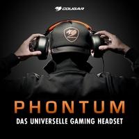Jetzt bei Caseking - Das Cougar Phontum Gaming Headset mit HiFi-Features und perfekter Ergonomie.