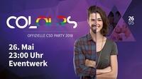 COLOURS - Offizielle CSD Dresden Party 2018