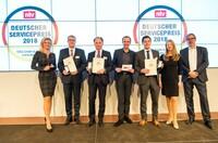 Knauber Erdgas erhält Deutschen Servicepreis 2018