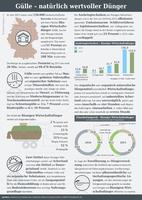 Infografik der AGRAVIS Raiffeisen AG zum Thema Gülle