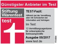 Stiftung Warentest Pflegekräfte aus Osteuropa 2017 - Günstigster Pflege Anbieter im Test