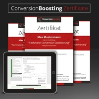 Digitale offene Tür bei den eLearnings von ConversionBoosting