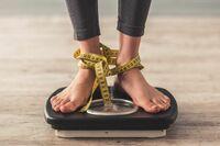 Dickes Geschäft mit Übergewicht