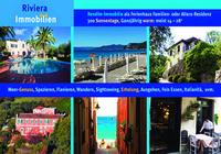 Riviera Immobilien bietet hochrentable Kapitalanlagen in einzigartig schöne, günstige Ferienhäuser in Ligurien