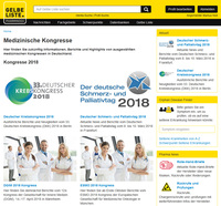 Kongressberichte bei Gelbe Liste Pharmindex Online