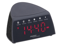 Digitaler Bluetooth-FM-Radiowecker mit QI Wireless Ladegerät (5 Watt)