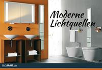 Moderne Lichtquellen im Bad