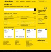 """""""Jobs vor Ort"""": Gelbe Seiten startet Stellenportal - als lokale Vermittlungsplattform für kleine und mittlere Unternehmen"""