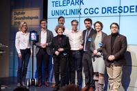 TelePark gewinnt Digitalen Gesundheitspreis:  Forschungsprojekt für Parkinsonpatienten ausgezeichnet
