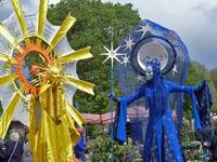 Magic Lake Festival setzte auf Walking Act von Ellen Kamrad