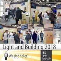 Erfolgreiche Messe-Teilnahme auf der light & building 2018