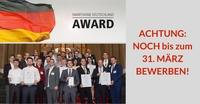 SmartHome Deutschland Award 2018 - Noch bis 31. März bewerben!