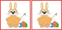 Mit dem Osterhasen auf die Schule vorbereiten - Online Memorys und Kinder Apps