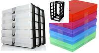 Schluß mit der Unordnung dank farbiger VarioColors Aufbewahrungsboxen