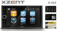 Multimedia and More - the New XZENT Infotainer X-422