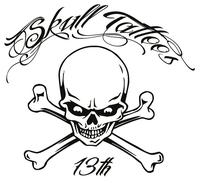 Skull Tattoos auf der Tattoo Convention Frankfurt am Main