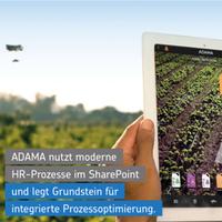 ADAMA optimiert mit WEBCON BPS und Net at Work HR-Prozesse im SharePoint