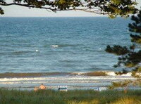 Ferienwohnung Insel Rügen Ostsee Dünenresidenz Juliusruh Meeresblick Panorama Wohnung eigener Strandzugang Saunalandschaft WLAN Fitnessraum Waschsalon