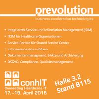 Integriertes Service- und Information-Management auf der ConhIT 2018