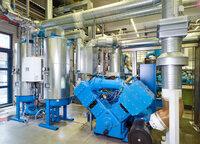 Drucklufterzeugung bei Gerolsteiner Brunnen leistet Beitrag zum Klimaschutz