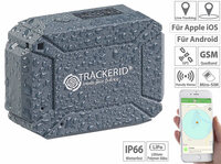 TrackerID GPS- & GSM-Tracker LTS-200, Live-Tracking-App