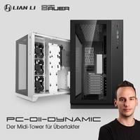 """BRANDNEU bei Caseking - Lian Li & Roman """"der8auer"""" Hartung präsentieren den PC-O11 Dynamic Midi-Tower."""