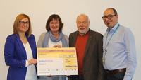 Arvato Financial Solutions fördert Kinderschutzbund mit 5.000 Euro