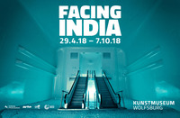 """Facing India"" from April 29, 2018 in the Kunstmuseum Wolfsburg"