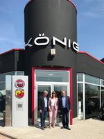 Fiat König eröffnet Standort in Erfurt