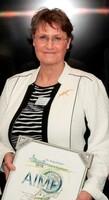 Dr. Marei Strack erhält vom AIMP Ehrenpreis für politische Arbeit