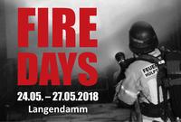 FireDays 2018 - vier Tage beste Feuerwehr-Ausbildungen!