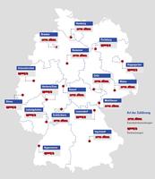 Von Brunsbüttel bis nach Oberstdorf - Flüssiggasversorger PROGAS sichert mit starker Infrastruktur deutschlandweit die Versorgung der Verbraucher