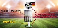 showimage Aufsteller zum Fußball-Event des Jahres
