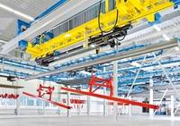 """Die dreidimensionale Fabrik: KEWESTA simuliert """"Power & Free"""" mit Visual Components"""