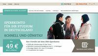 GERMAN BLOCKED ACCOUNT: Neues Online-Sperrkonto für ausländische Studenten in Deutschland