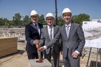 Grundsteinlegung: Baustart für neues Ardex-Logistikzentrum