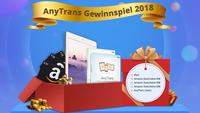 AnyTrans Quiz lösen und iPad 2018 gewinnen - AnyTrans Quiz 2018