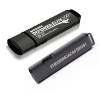 EU-DSGVO: sensible Daten auf hardwareverschlüsselten USB-Sticks mit aufgedruckter Seriennummer und physischem Schreibschutz speichern