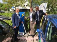 Die erste E-Ladesäule für Drolshagen steht