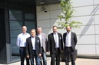 Barsinghausens Bürgermeister Marc Lahmann zu Gast bei Lyreco