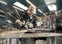 Metabo: Starke Unterstützung für Metaller - die neuen Druckluft-Schleifer von Metabo