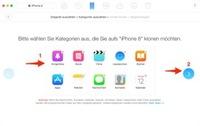 1-Klick - Daten auf neues iPhone übertragen