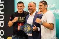 Für WM-Traum boxt Robin Krasniqi vs. Stanyslav Kashtanov um EBU-Europameisterschaft im Super-Mittelgewicht