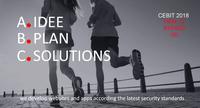 Die CEBIT 2018 geht auf Nummer sicher und die bplan-solutions GmbH & Co KG geht mit.