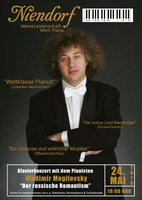 Klavierkonzert mit Vladimir Mogilevsky bei Niendorf - Luckenwalde