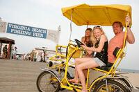 Wärme, Strand und Fun: Familiensommer in Virginia Beach